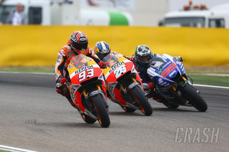 MotoGP getting faster...
