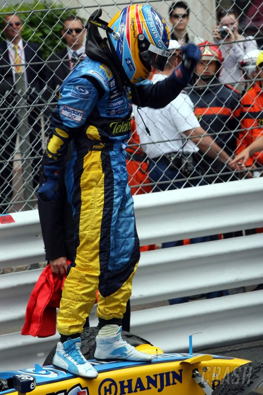 28.05.2006 Monte Carlo, Monaco, Fernando Alonso (ESP), Renault F1 Team - Formula 1 World Championshi