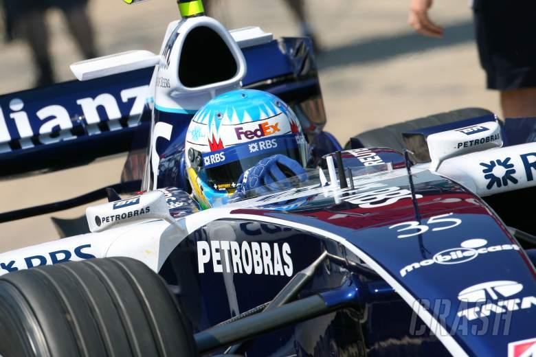 09.06.2006 Silverstone, England, . Alexander Wurz (AUT), Test Driver, Williams F1 Team, FW28 Coswort