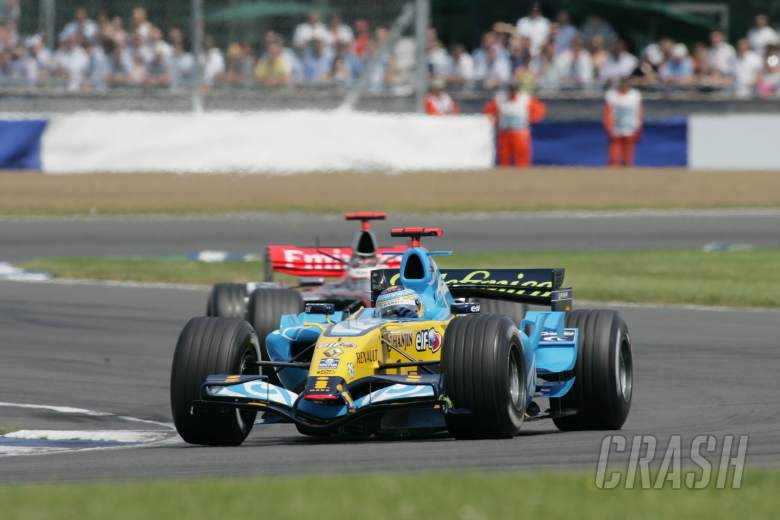 11.06.2006 Silverstone, England, Fernando Alonso (ESP), Renault F1 Team, R26 - Formula 1 World Champ