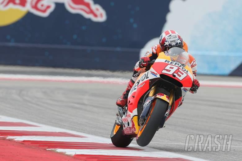 Marquez completes MotoGP treble in Texas