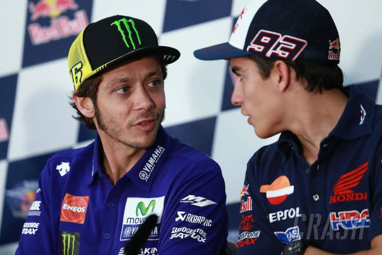 Rossi and Marquez: Racing incident