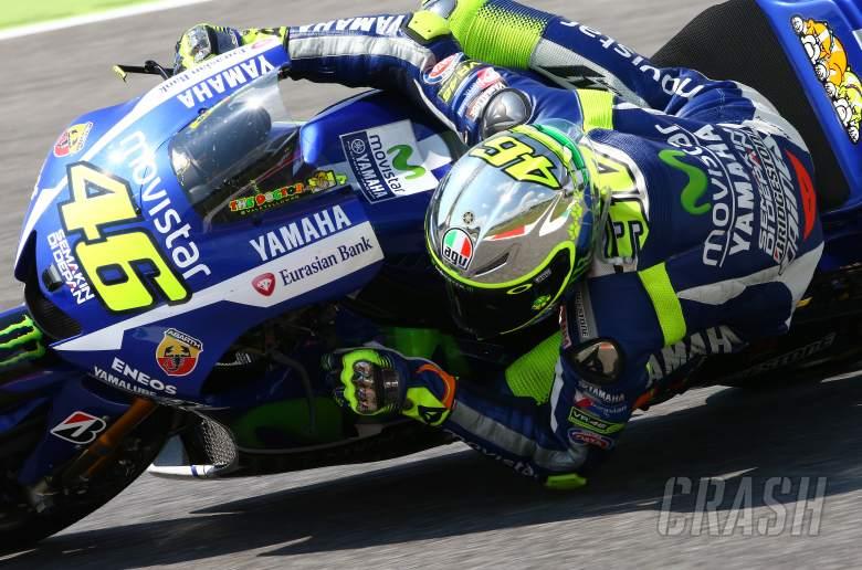 Valentino Rossi unveils 2015 Mugello helmet