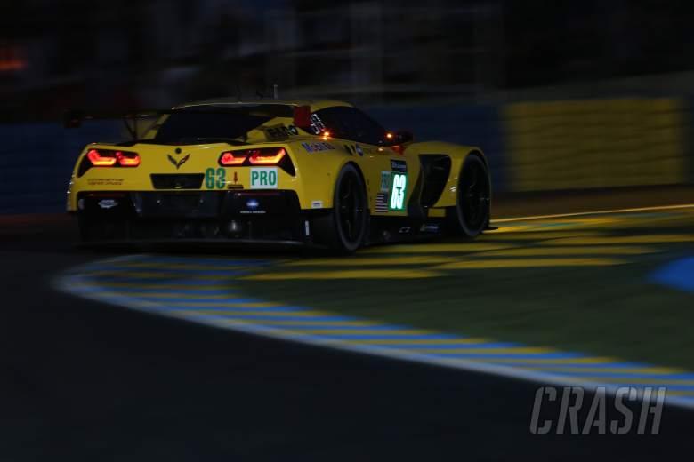 Corvette withdraws #63 car after crash