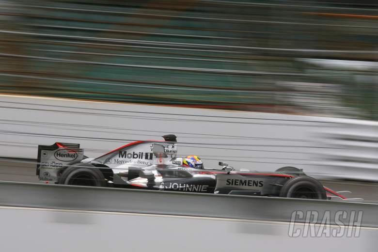 30.06.2006 Indianapolis, USA, Juan-Pablo Montoya (COL), Juan Pablo, McLaren Mercedes, MP4-21 - Formu