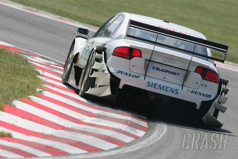 Tom Kristensen (DMK), Audi Sport Team ABT Audi A4 DTM 2006. DTM, Round 4, Brands Hatch, Kent, UK. 3