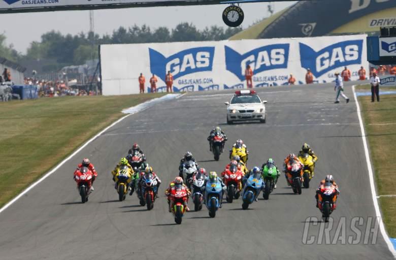 , , Start, British MotoGP, 2006