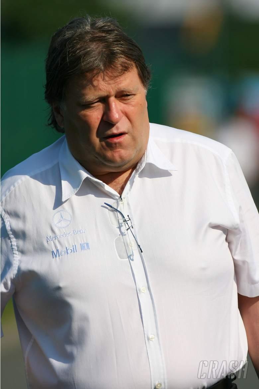 15.07.2006 Magny Cours, France, Norbert Haug (GER), Mercedes, Motorsport chief - Formula 1 World Cha