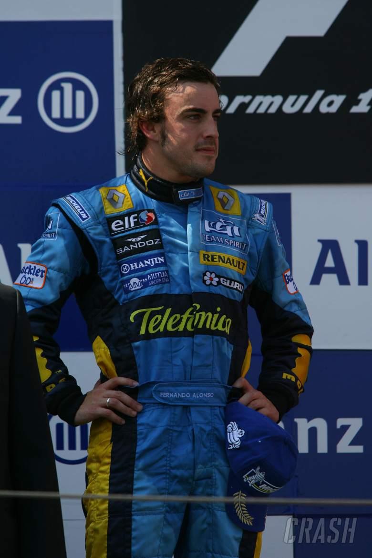 16.07.2006 Magny Cours, France, Fernando Alonso (ESP), Renault F1 Team - Formula 1 World Championshi