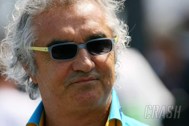 16.07.2006 Magny Cours, France, Flavio Briatore (ITA), Managing Director Renault F1 Team - Formula