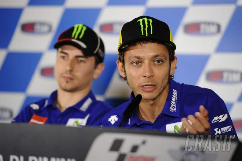 Rossi: Title 100% open, Lorenzo injury unclear