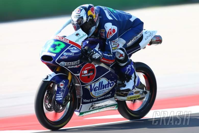 Moto3 Aragon - Qualifying Results