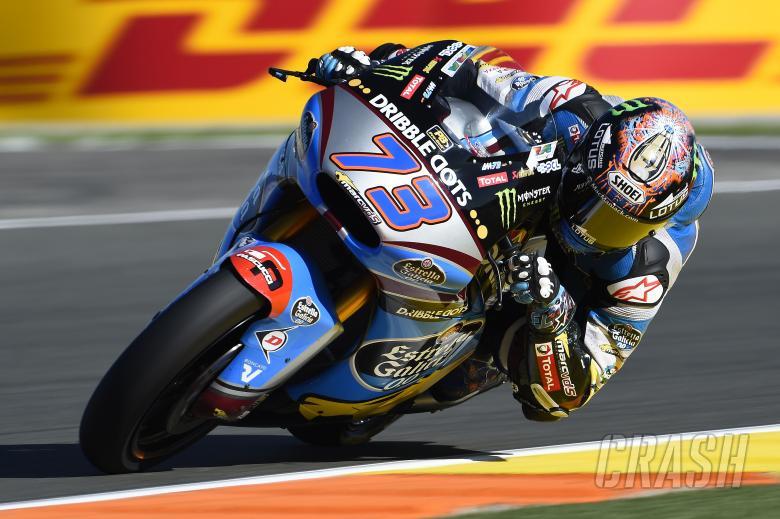 Moto2: Alex Marquez back for Jerez test