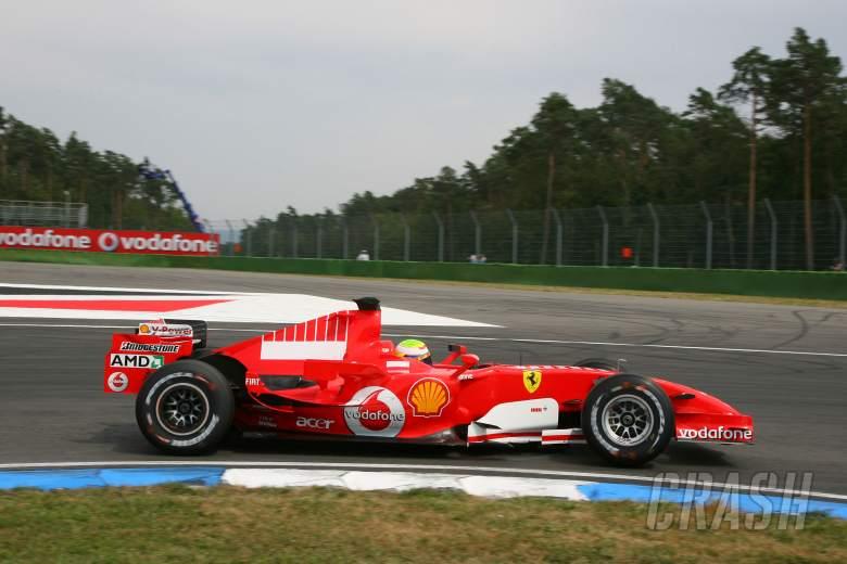 28.07.2006 Hockenheim, Germany, Felipe Massa (BRA), Scuderia Ferrari, 248 F1 - Formula 1 World Champ