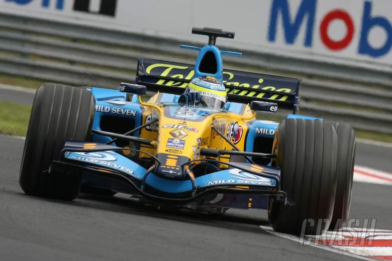 04.08.2006 Budapest, Hungary, Giancarlo Fisichella (ITA), Renault F1 Team, R26 - Formula 1 World Cha