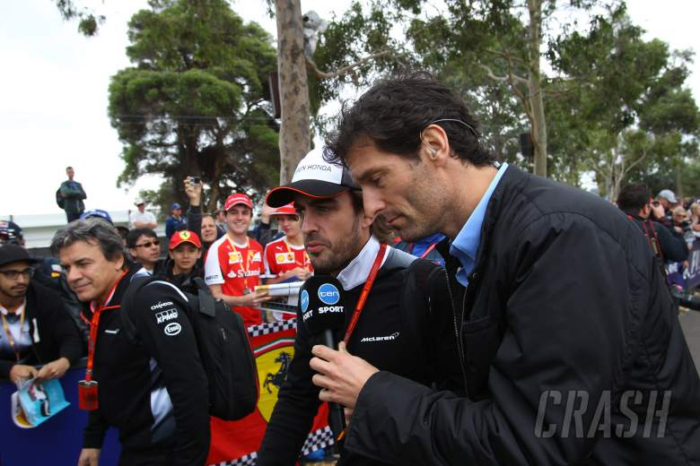 Mark Webber: Alonso asked me to join him at Indy 500