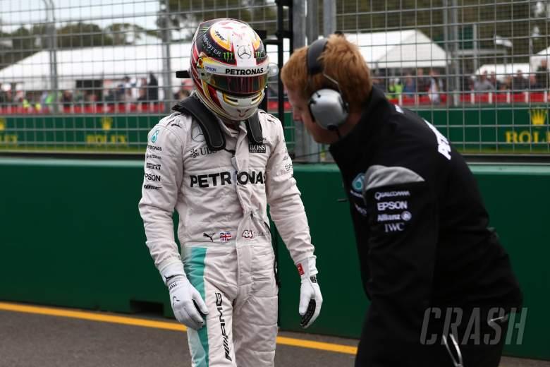 Australian Grand Prix - Starting grid