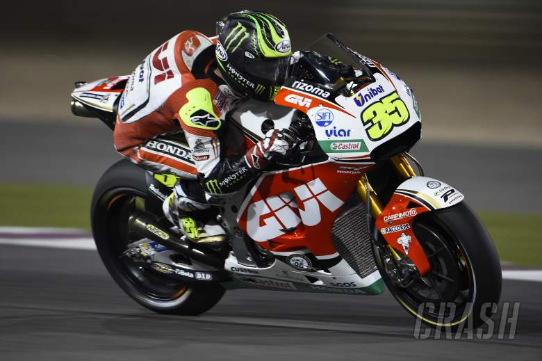 Crutchlow: I'm not going to eat!