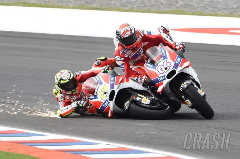 Iannone talks Ducati 'disaster'