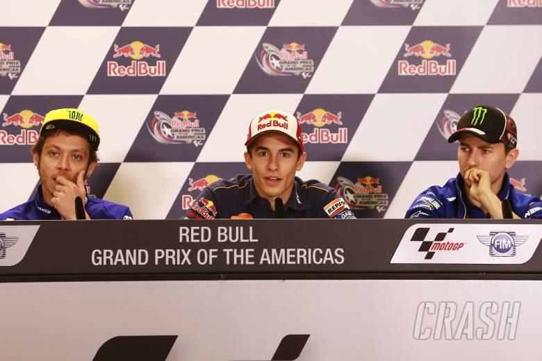Riders react to Bautista pit lane crash
