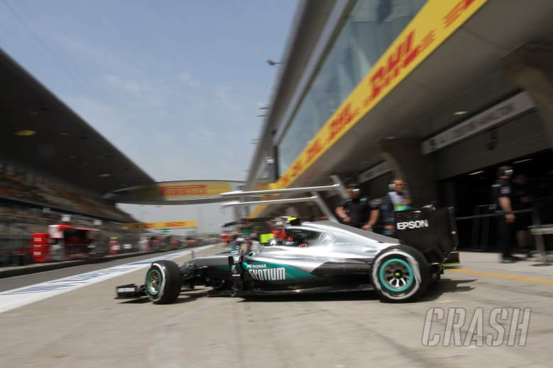 Chinese Grand Prix - Starting grid