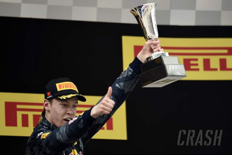 Kvyat pockets Driver of the Day award in China