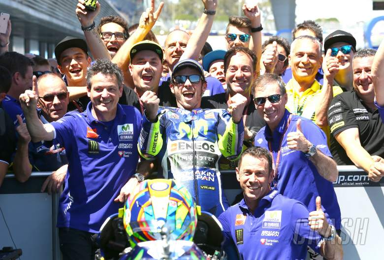 Rossi: I couldn't have wanted anything better