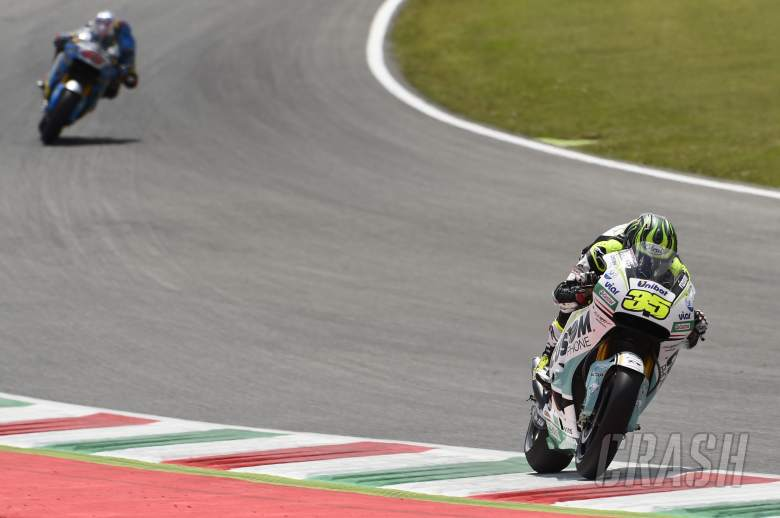 Front brake issues limit Crutchlow to eleventh