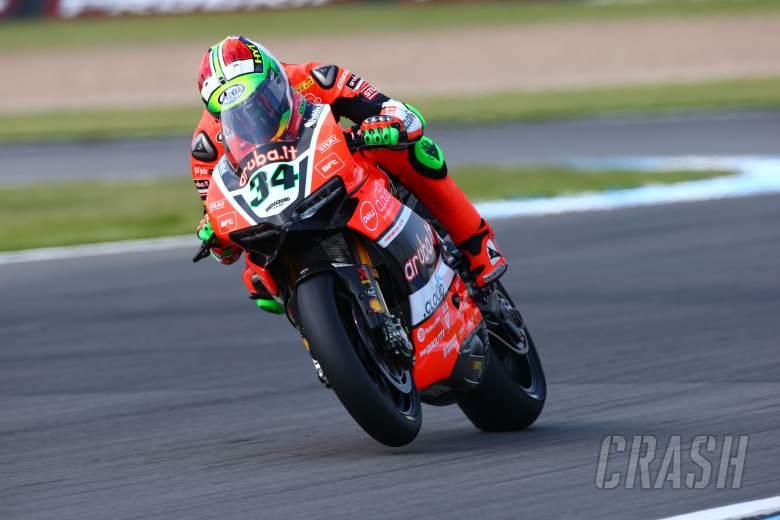 Giugliano leads way for Ducati in FP1