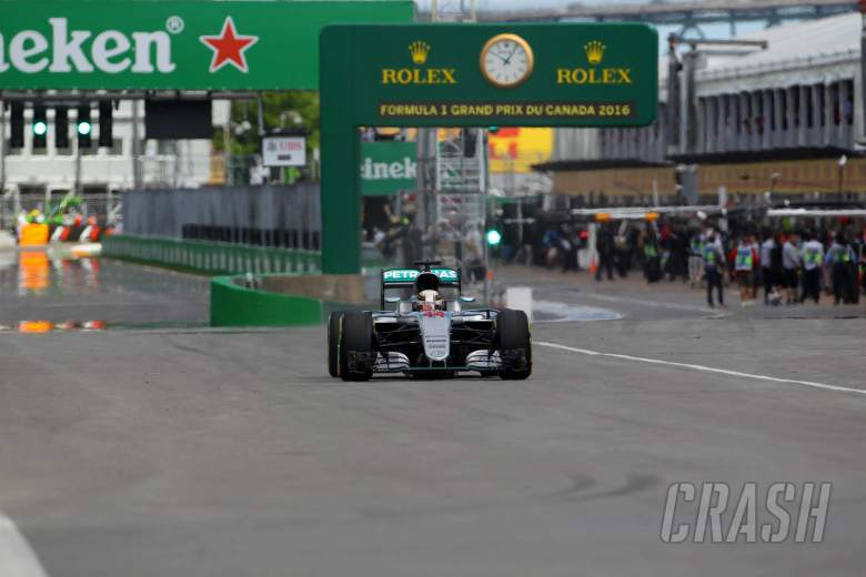 Canadian Grand Prix - Starting grid