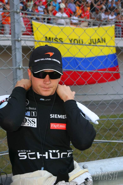 27.08.2006 Istanbul, Turkey, Kimi Raikkonen (FIN), Räikkönen, McLaren Mercedes, MP4-21 - Formula 1