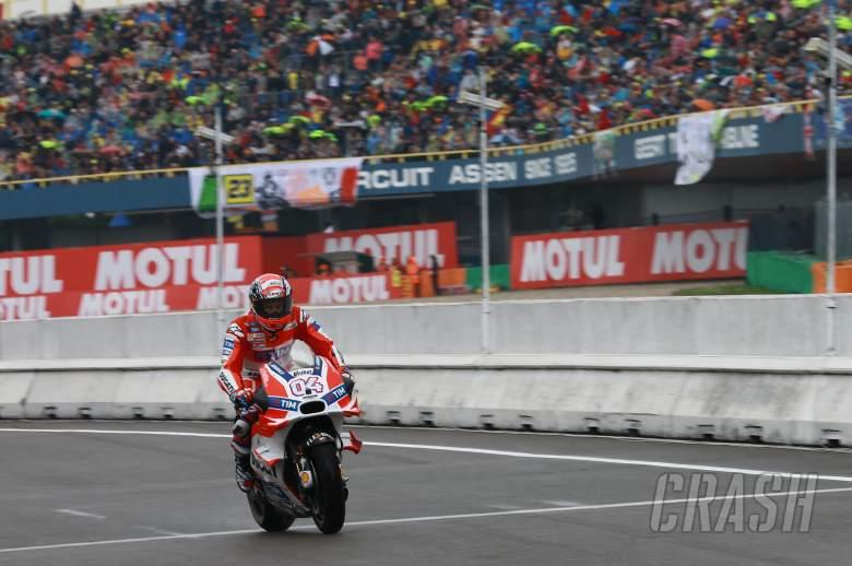 Rain brings halt to Dutch TT at Assen