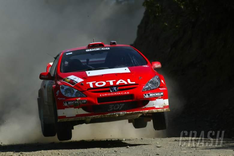 , , Marcus Gronholm / Timo Rautiainen - Peugeot 307 WRC