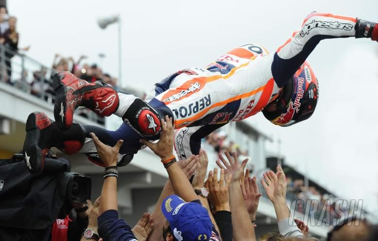Marquez: Another crazy race