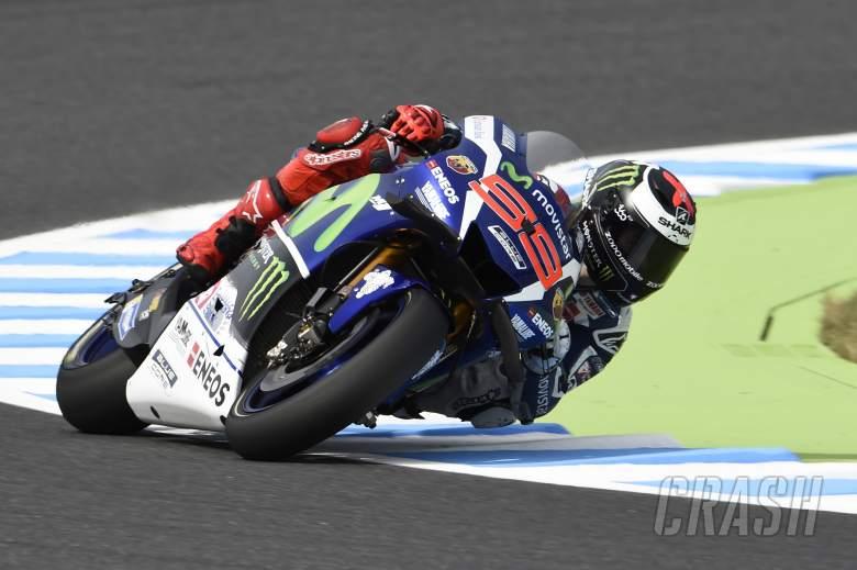 Lorenzo fastest, Pedrosa breaks collarbone