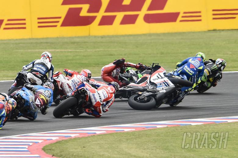 MotoGP: First turn mayhem