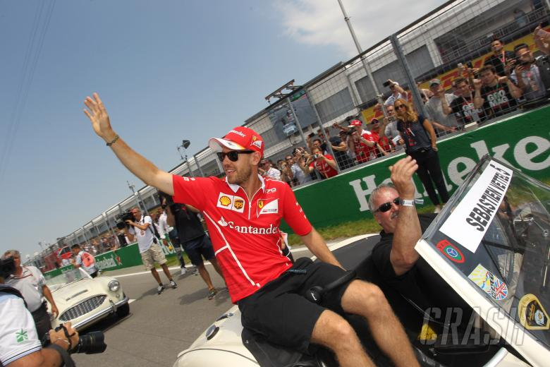 11.06.2017- Sebastian Vettel (GER) Scuderia Ferrari SF70H