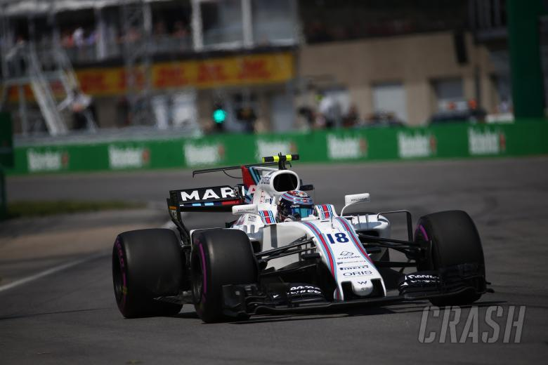 11.06.2017- Race, Lance Stroll (CDN) Williams FW40