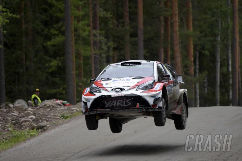 Lappi on course for shock win after Latvala exit