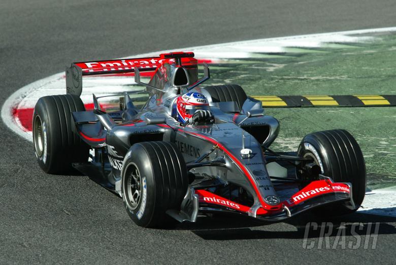 30.08.2006 Monza, Italy,Gary Paffett (GBR), Test Driver, McLaren Mercedes, MP4-21 - August, F1 testi