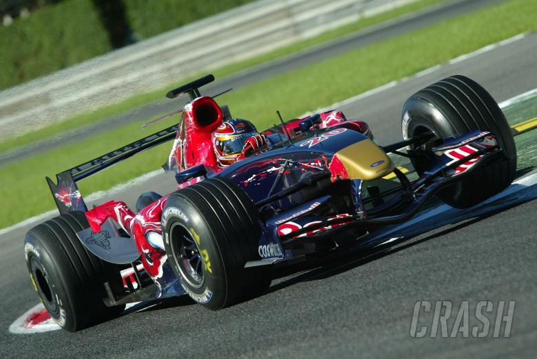 30.08.2006 Monza, Italy, Vitantonio Liuzzi (ITA), Scuderia Toro Rosso, STR01 - August, F1 testing,