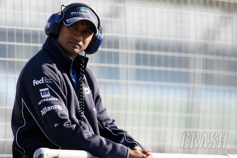 21.09.2006 Silverstone, England, Narain Karthikeyan (IND), Test Driver, Williams F1 Team - www.xpb.c