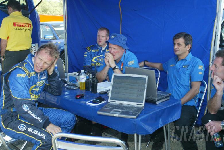 , , Petter Solberg (NOR) Subaru WRT and Luis Moya World Rally of Cyprus, 19-22 September 2006, Cyprus