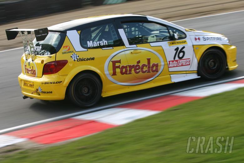 Richard Marsh (GBR), Peugeot 307