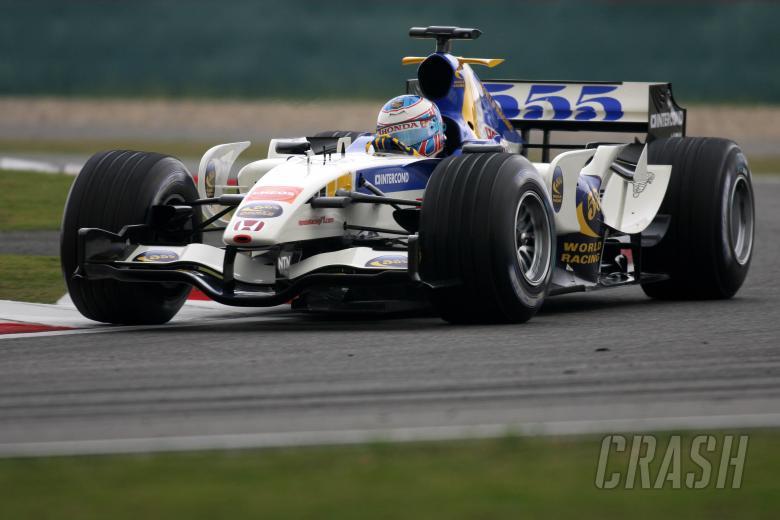 29.09.2006 Shanghai, China, Jenson Button (GBR), Honda Racing F1 Team, RA106 - Formula 1 World Champ