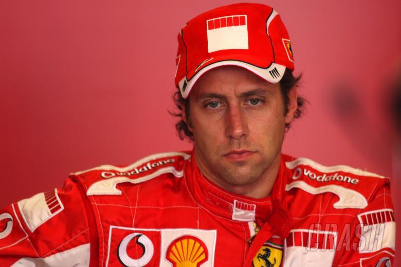 11.10.2006 Jerez, Spain, Luca Badoer (ITA), Test Driver, Scuderia Ferrari, F1 Testing
