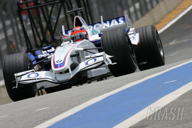 21.10.2006 Sao Paulo, Brazil, Robert Kubica (POL), BMW Sauber F1 Team, F1.06 - Formula 1 World Champ