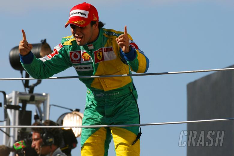 22.10.2006 Sao Paulo, Brazil, Felipe Massa (BRA), Scuderia Ferrari, 248 F1 - Formula 1 World Champ