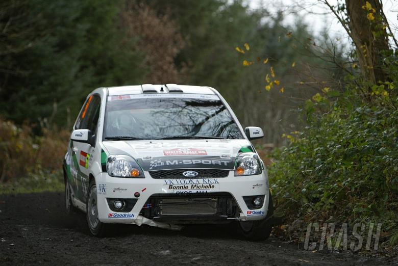 Barry Clark (GBR) - Scott Martin (GBR), Ford Fiesta ST [JWRC / FSTi]. Wales Rally GB, 1st-3rd Decemb