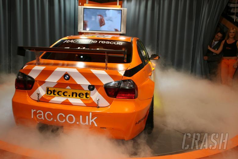Team RAC WSR BMW Launch, Colin Turkington announced as first driver